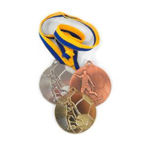Медали Д27 Футбол купить для награждения