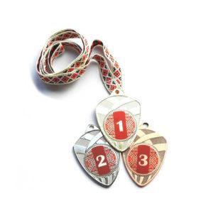 Медали Д189 Красная вышиванка купить для награждения