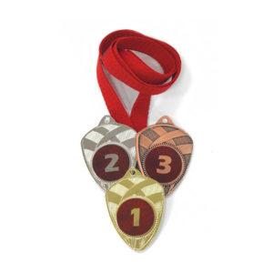 Медали Д189 Модерн красная купить для награждения