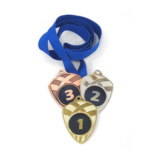 Медали Д189 Модерн синяя купить для награждения
