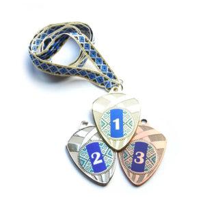 Медали Д189 Синяя вышиванка купить для награждения