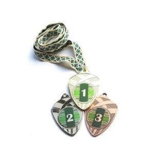 Медали Д189 Зелёная вышиванка купить для награждения