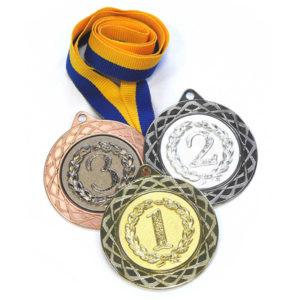 Медали спорт Д254 купить для награждения
