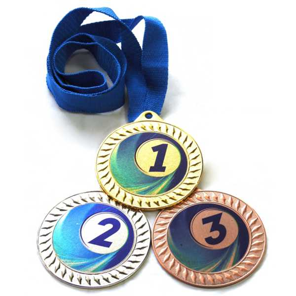 Медали спорт С9170 Синяя купить для награждения