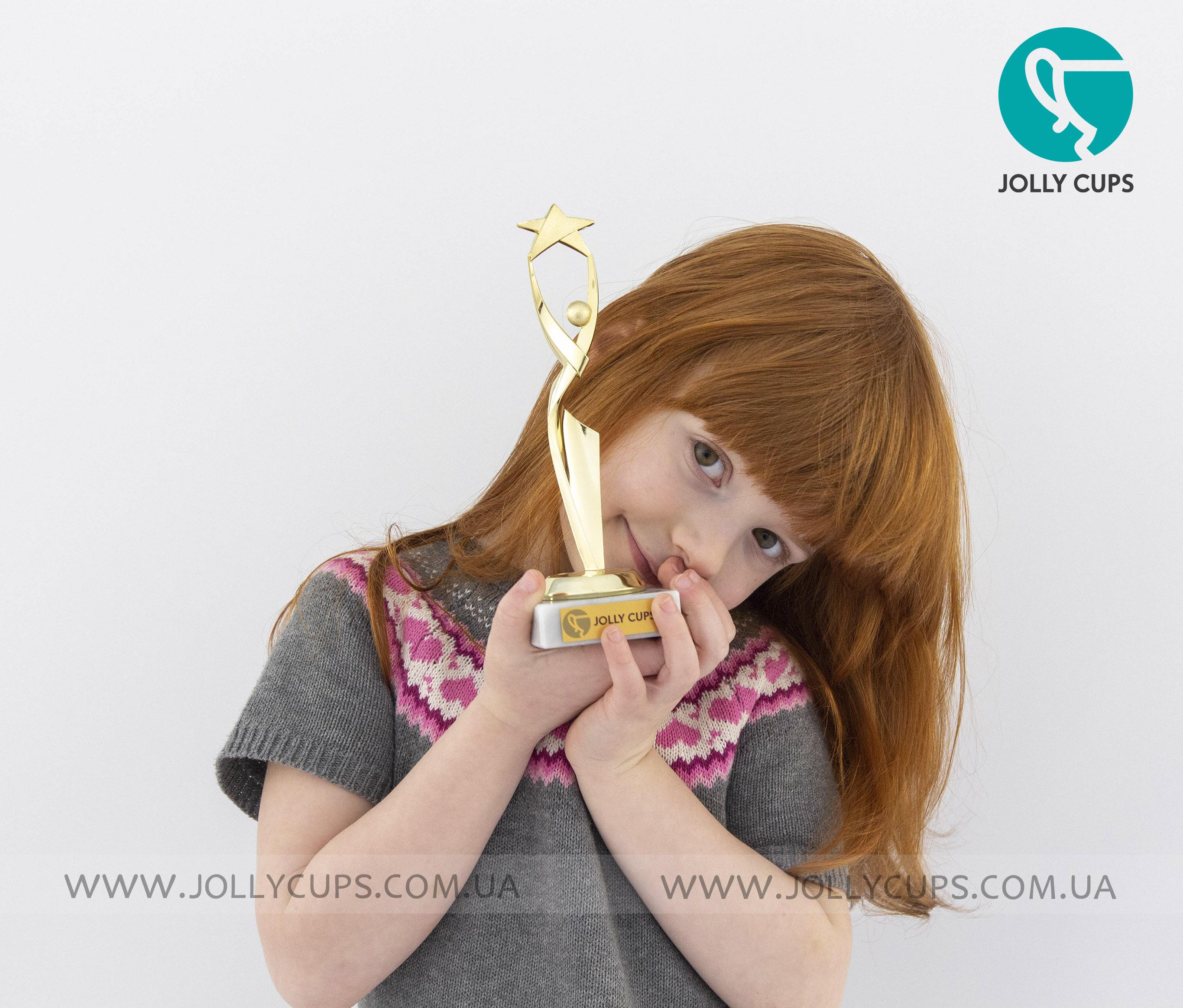 Купити статуетки нагороди для дітей Грація зірки