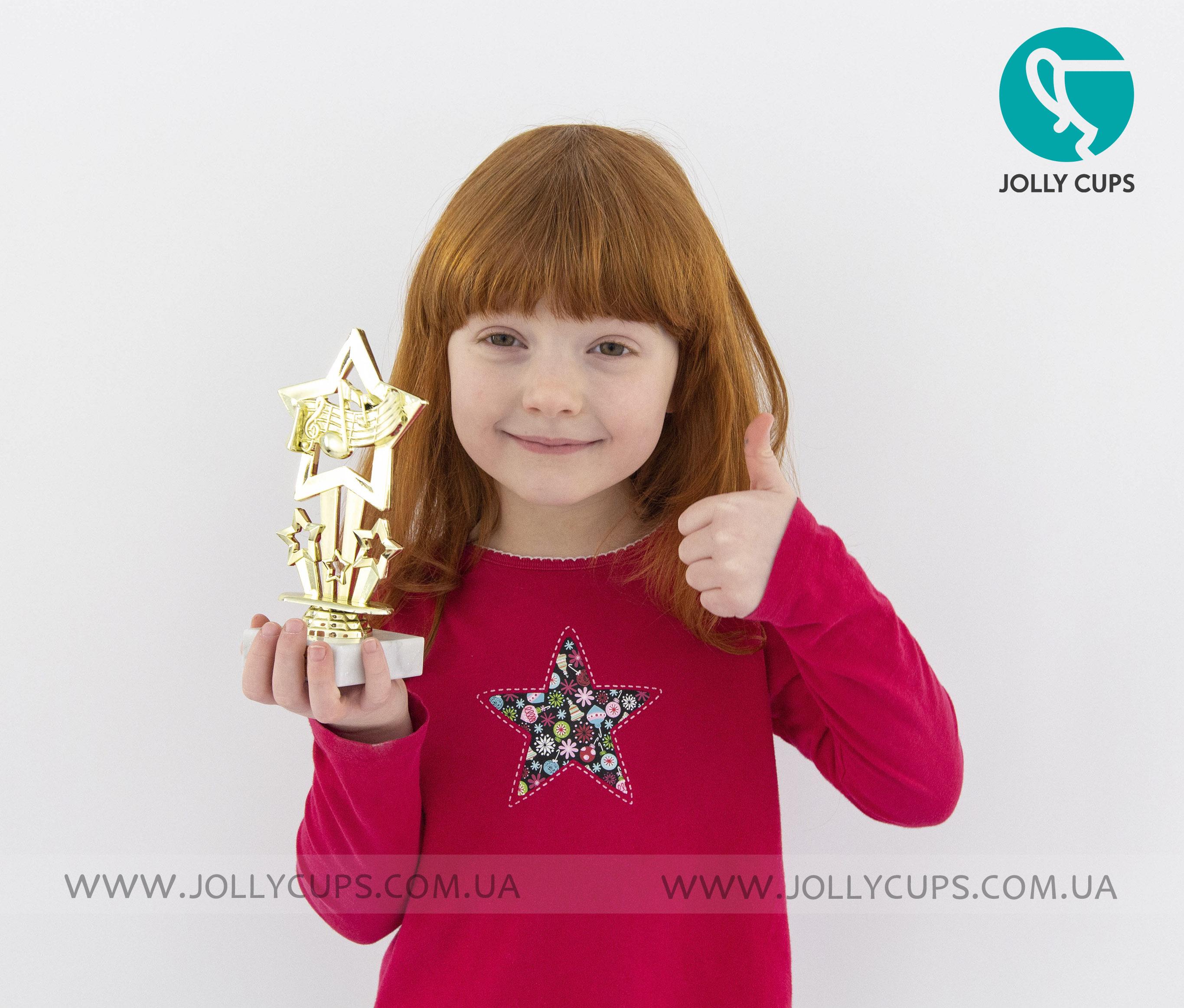 Купити кубки нагороди для дітей Музичні зіки