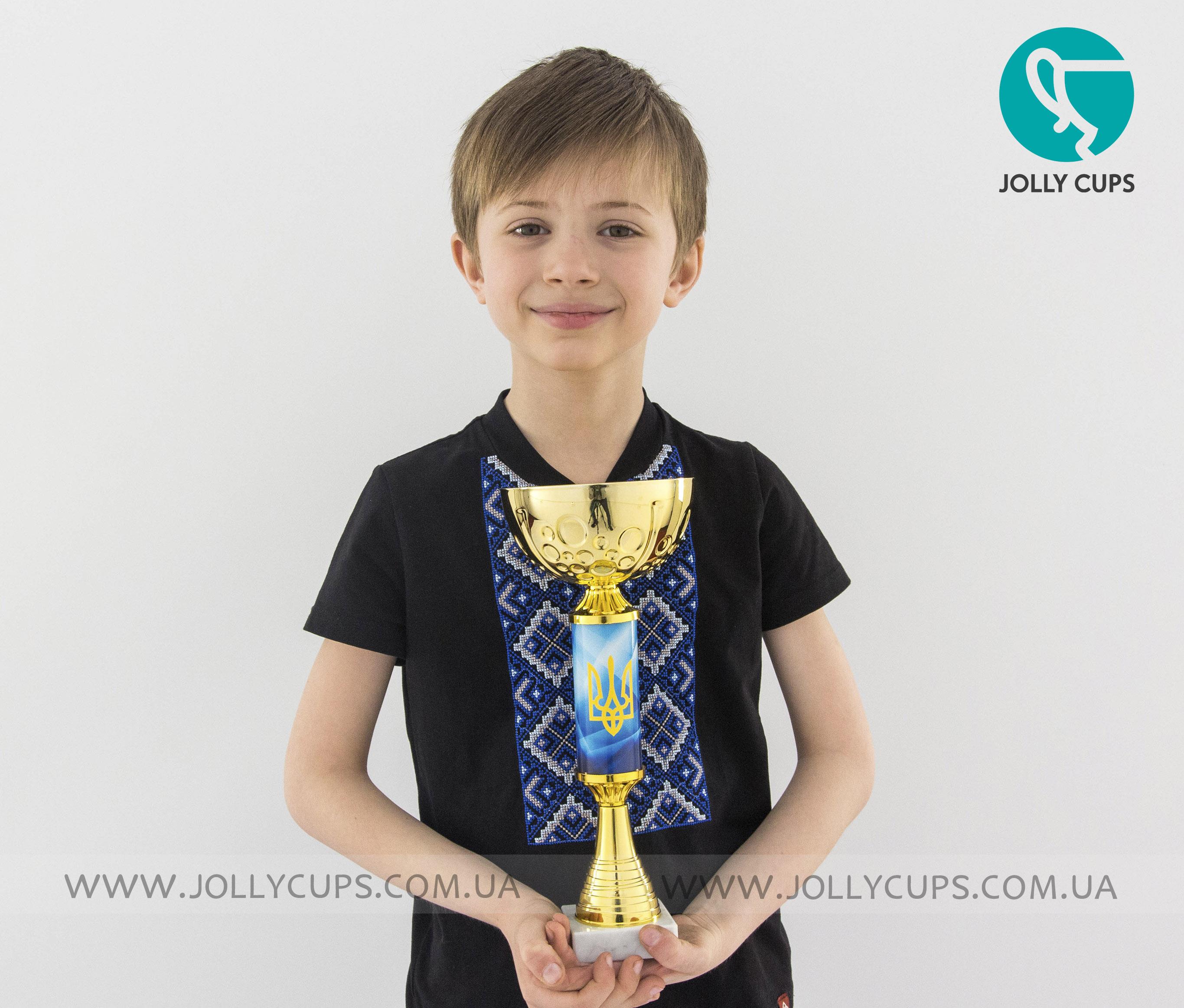 Купити кубки нагороди для дітей Герб