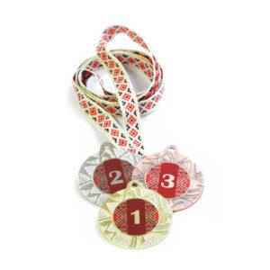 Медали Д257 Красная вышиванка купить для награждения