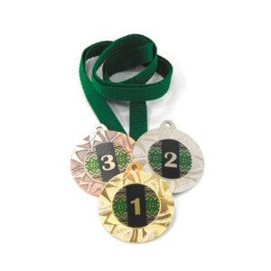 Медали Д257 Зелёная купить для награждения