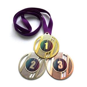 Медали Д323 Фиолетовая купить для награждения