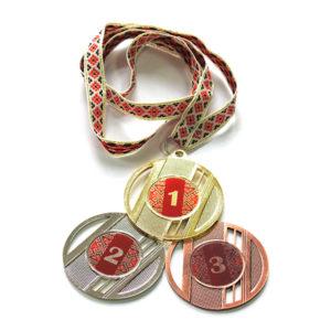 Медали Д323 Красная вышиванка купить для награждения
