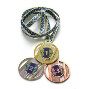 Медали Д323 Синяя вышиванка купить для награждения
