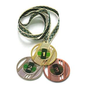 Медали Д323 Зелёная вышиванка купить для награждения